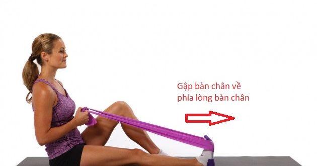 Hướng dẫn tập khỏe cơ cẳng chân